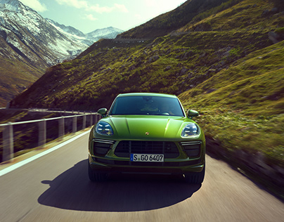 `the green Mamba´ - Porsche Macan Turbo
