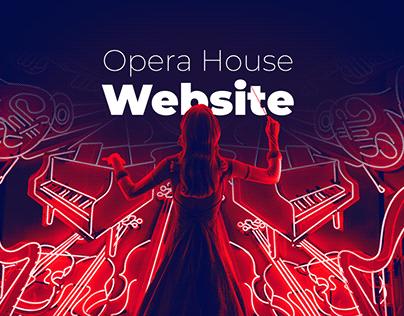 Opera House - Website concept & art direction