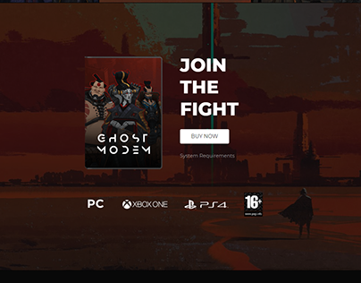 A R S N L - A Video Game Landing Page Style One