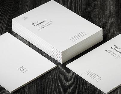 Ethos Typefaces – Specimen Book