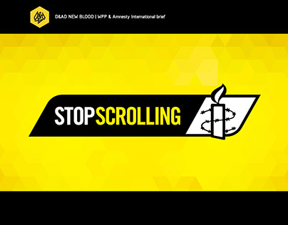 Amnesty International - Stop scrolling / D&AD