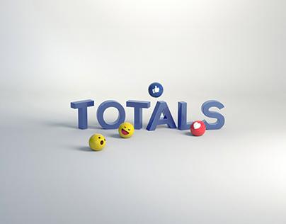 Totals 3d Text Campagin