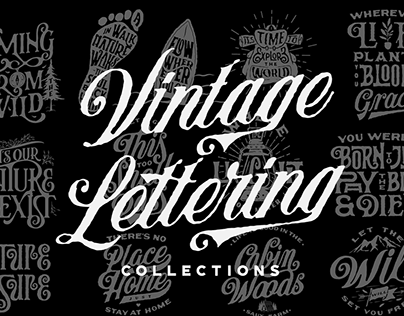 Vintage Lettering Collections