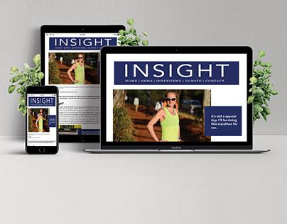 Insight Magazine Layout ART 230 Project 4