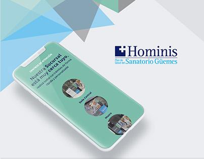Hominis Web Site