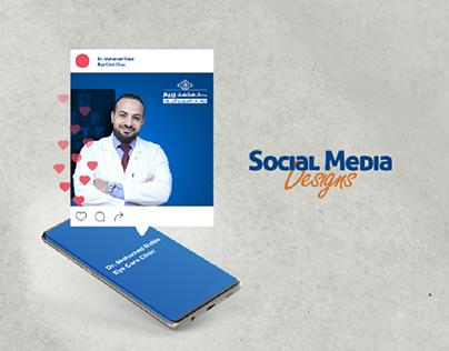 Dr. Mohamed Rabie, Eye clinic