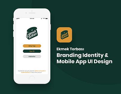 Ekmek Torbası Branding Identity & Mobile App UI Design