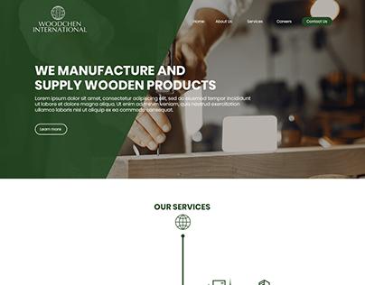 Woodchen web design study