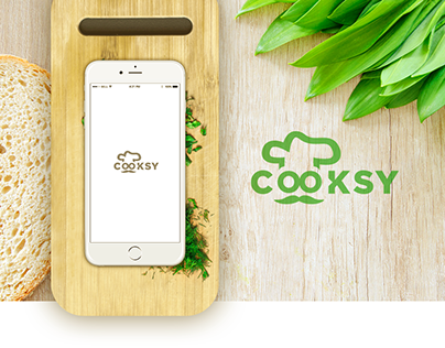 COOKSY - Mobile App Wireframe iOS UX
