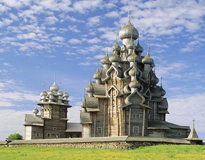 Church in Kizhi HDR