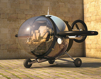 Fly™ Citycopter - Another Possible Way