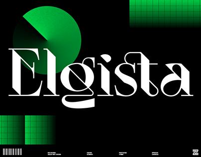 ELGISTA - Display Font