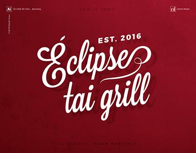Éclipse tai grill - Branding