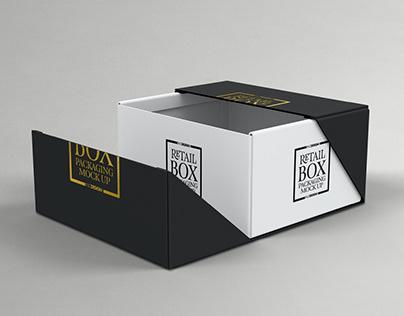 Retail Box Packaging Mockups