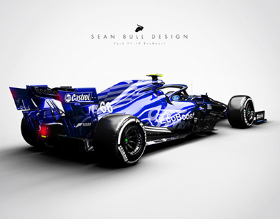 Ford F1-19 3D Livery Visualisation and Design