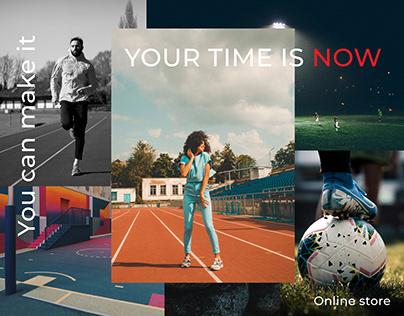 Online store   SportRoom