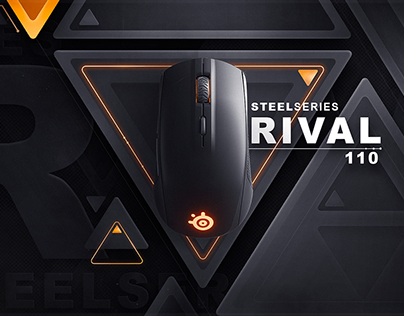 Steelseries rival 110 advertisment
