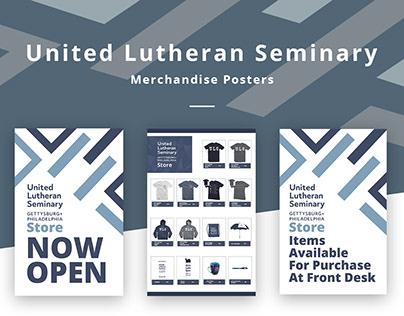 United Lutheran Seminary Merchandise Posters
