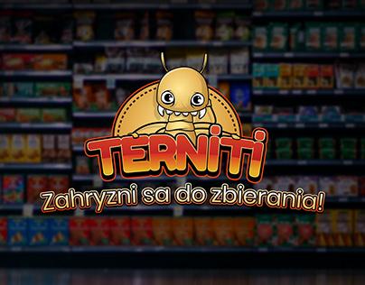 Terniti/Terniťáci - fiktívny projekt pre Terno