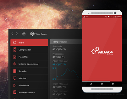 Redesign Interface AIDA64