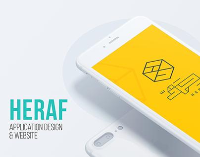 Heraf - Application Design & Website