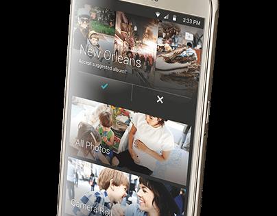 Samsung Galaxy S6 photo gallery concept