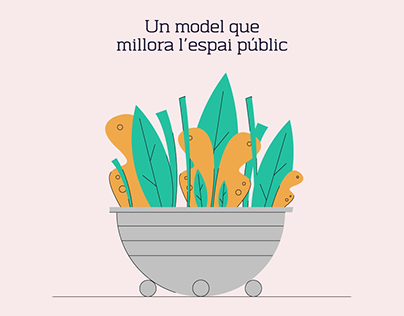 Recycling campaign for Ajuntament de Barcelona