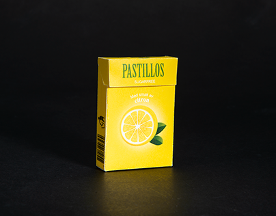 PASTILLOS - with taste of lemon