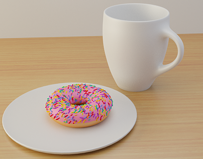 Donuts in Blender3d