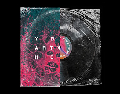 Customizable Vinyl Record Mockup