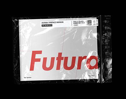 Futura type specimen design manual