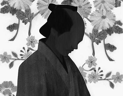 『風を繍う』llustration for the novel magazine and book jacke