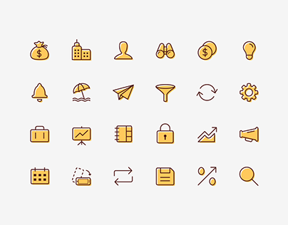 Line Icons for iOS app