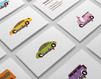 Clean&go (logo concept)