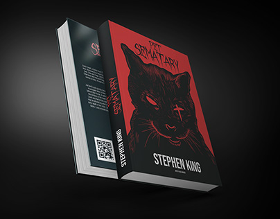 """Pet Sematary"" Book Cover"