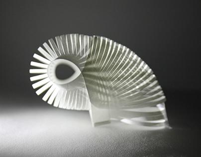Paper Explorations - Illuminated Shapes