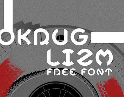 OKRUGLIZM V2.0 free decorative font