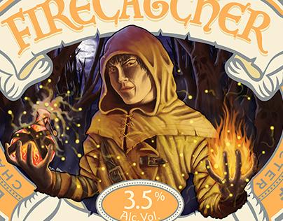 Wychwood Brewery - Hobgoblin beer label illustration
