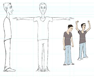 aWake Character production