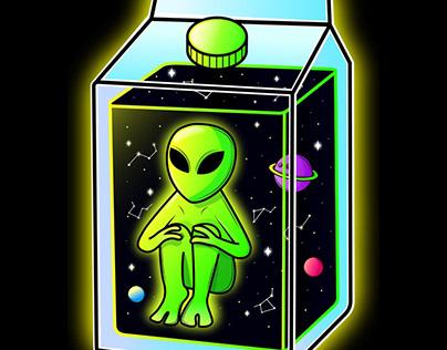 Alien milk