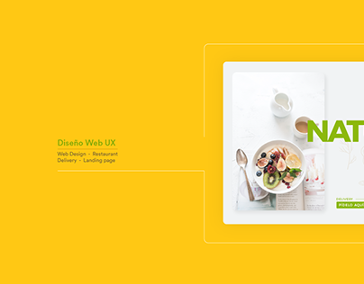 Restaurant Delivery - Landing page