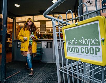 Park Slope Food Coop, NY, Brooklyn, USA