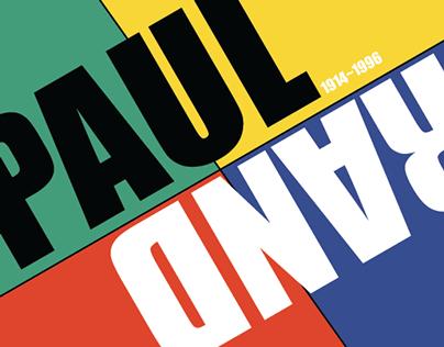 PAUL RAND X KOREA TRADITIONAL PATTERN