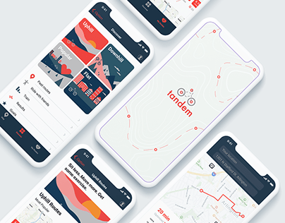 Tandem | An app for cyclists