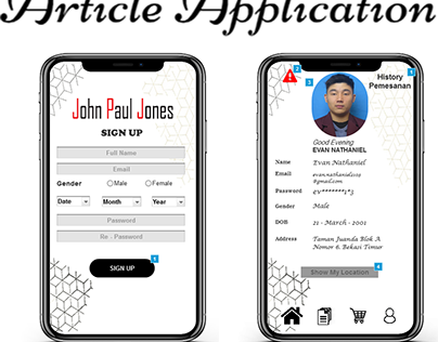 Article Application