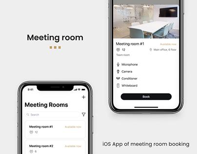 Meeting Room Booking App   UI/UX Case Study