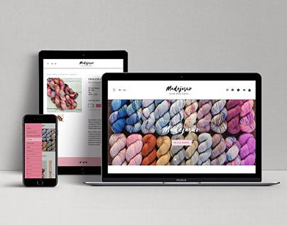 Jumpseller eCommerce theme design for Madejasur