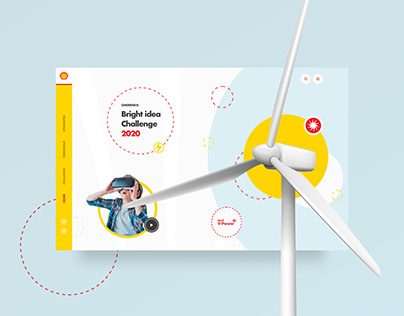 Shell webdesign - Bright Idea Challenge 2020