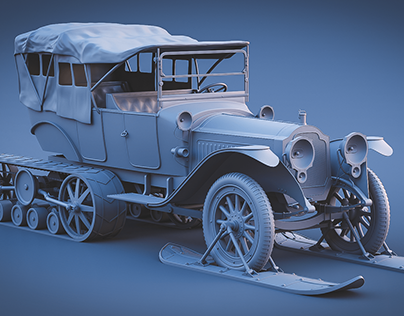 Packard semi tracked