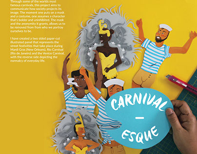 Carnivalesque   Paper cut